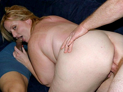Double Banged Fat Blonde 