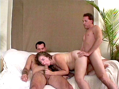 BBW Treasure Threesome Fucking 