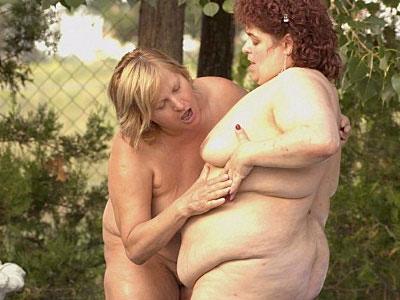Rosza BBW Lesbian Sex